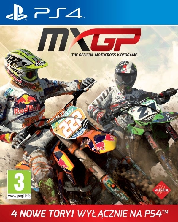 MXGP The Official Motocross Videogame (PS4)